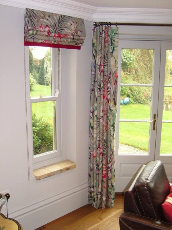 Harlequin Fabric Roman Blind From The Amazilia Range